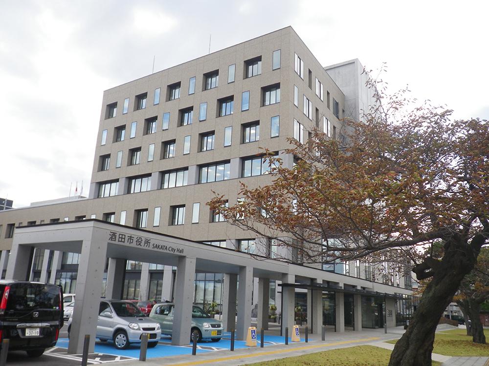 酒田市庁舎