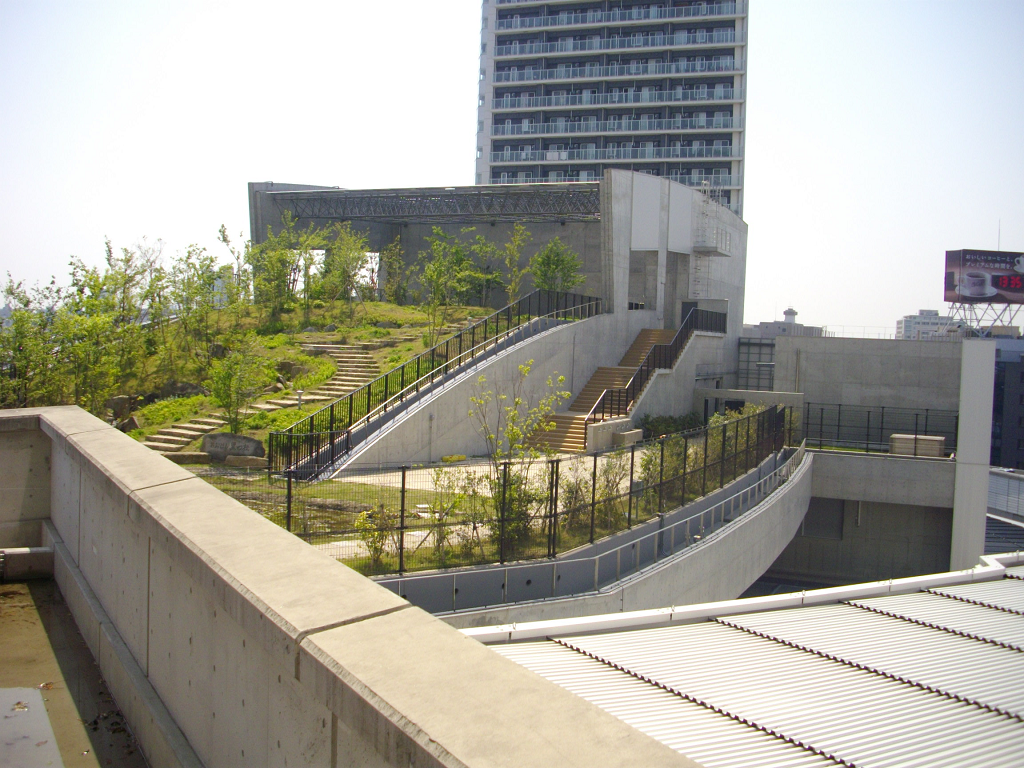 中央環状新宿線大橋換気所